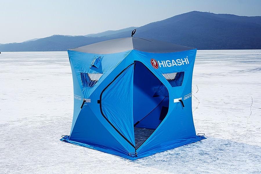 Самая лучшая зимняя палатка для рыбалки куб
